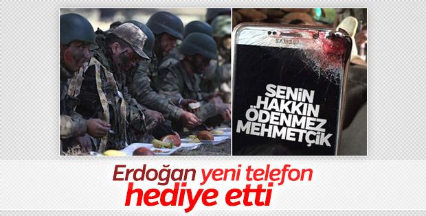 Cumhurbaşkanı'ndan askere yeni telefon