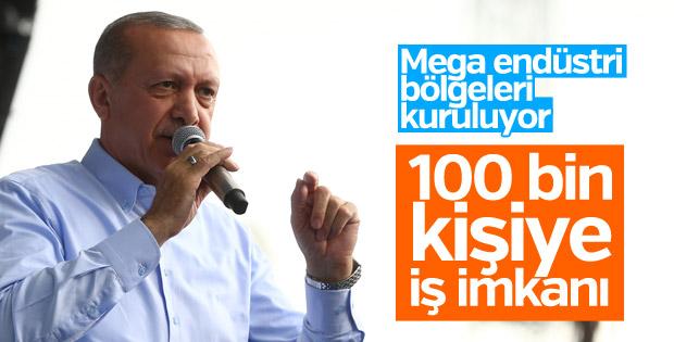 Cumhurbaşkanı'nın Bursa mitingi konuşması