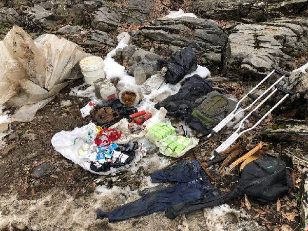 Bitlis'te PKK sığınakları ele geçirildi