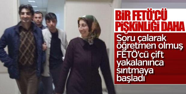 FETÖ'cüöğretmen çift Ankara'da yakalandı