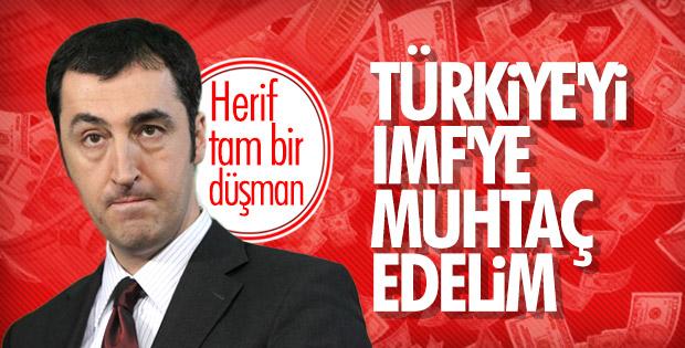 Cem Özdemir Türkiye'nin IMF'den yardım almasını bekliyor