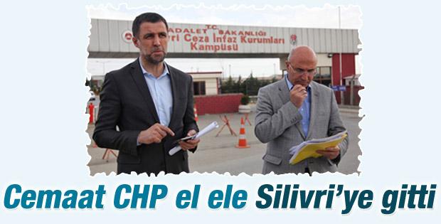 Hakan Şükür ve Mahmut Tanal'dan Silivri ziyareti