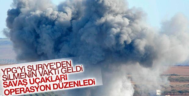 YPG'ye hava harekatı