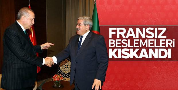 Cezayir'de gündem Recep Tayyip Erdoğan
