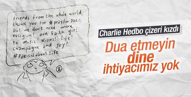 Charlie Hebdo çizerinden Paris yorumu