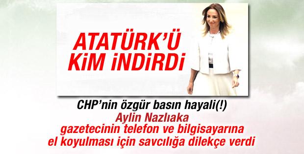 Aylin Nazlıaka'dan Atatürk haberini yapan gazeteciye dava