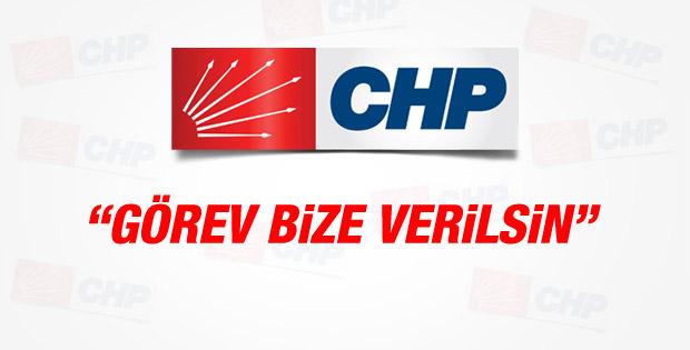 CHP hükümeti kurma görevini istedi