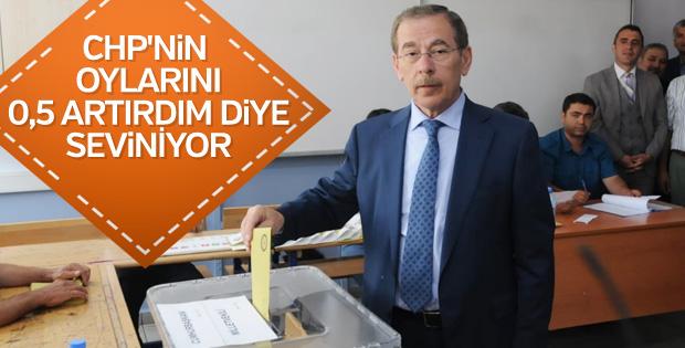 Abdüllatif Şener'in oy artırdım sevinci