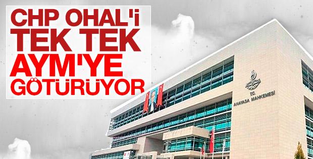 CHP'den AYM'ye yeni başvuru
