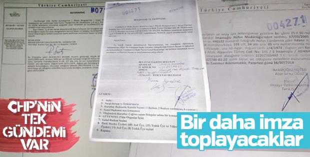 CHP'de kurultay krizi bitmedi