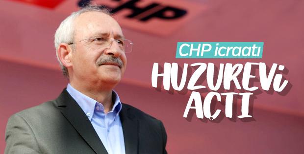 Kemal Kılıçdaroğlu huzurevi açtı