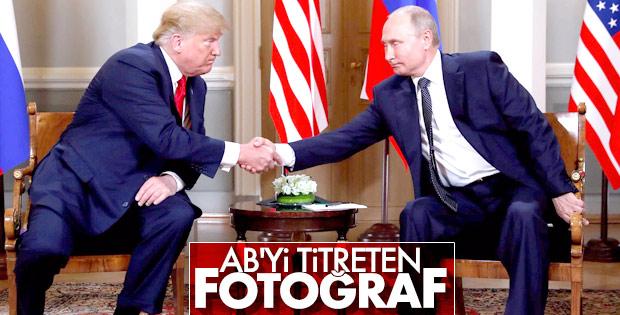 Helsinki'de Putin-Trump görüşmesi