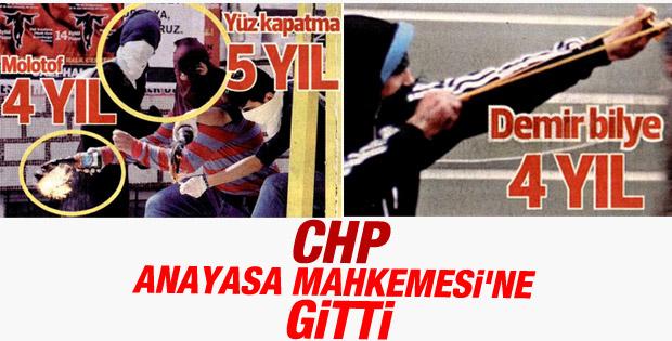 CHP İç Güvenlik Paketi'ni AYM gündemine taşıdı