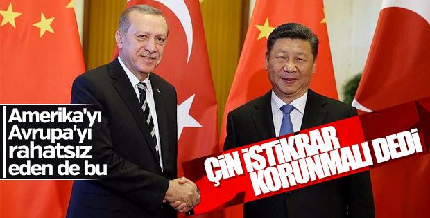 Çin'den 24 Haziran açıklaması: İstikrar korunmalı