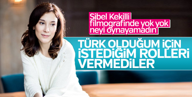 Sibel Kekilli: Türk olduğum için daha az rol alıyorum