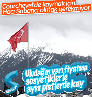 Courchevel'de ucuza kayak tatili
