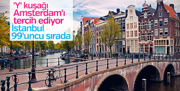 'Y' kuşağı Amsterdam'ı tercih ediyor