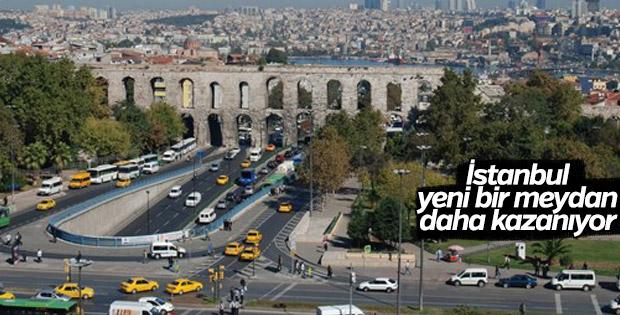İstanbul yeni bir meydan daha kazanıyor