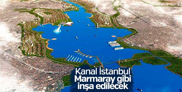 Kanal İstanbul'a 'Marmaray' modeli