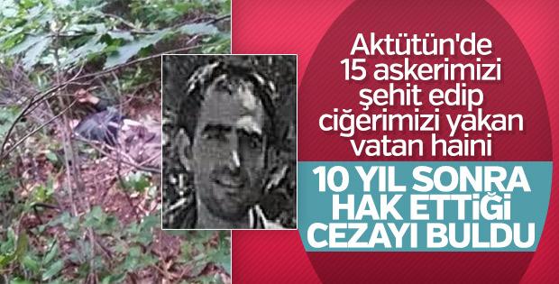 Giresun'da öldürülen teröristin kimliği belirlendi