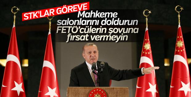 Cumhurbaşkanı Erdoğan iftarda STK temsilcileriyle buluştu