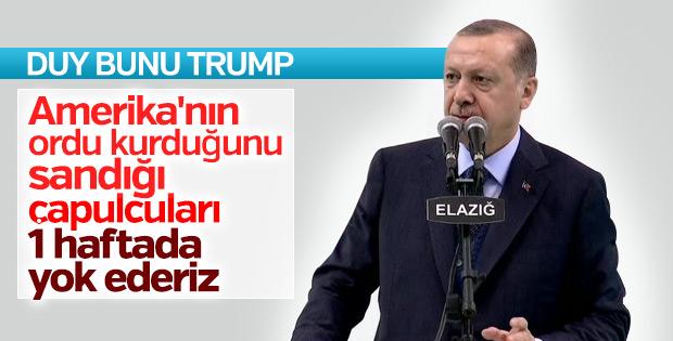 Cumhurbaşkanı Erdoğan Afrin'e operasyon sinyali verdi