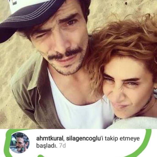 Ahmet Kural Sıla'yı takip etmeye başladı