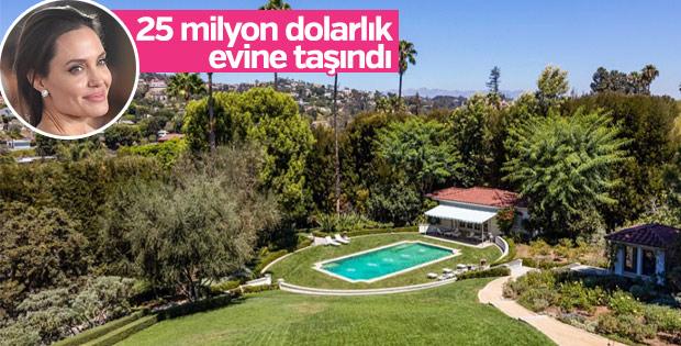 Angelina Jolie Los Angeles'tan ev aldı