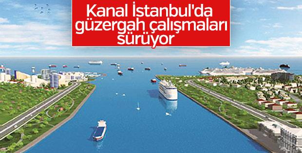 Kanal İstanbul için çalışmalar sürüyor