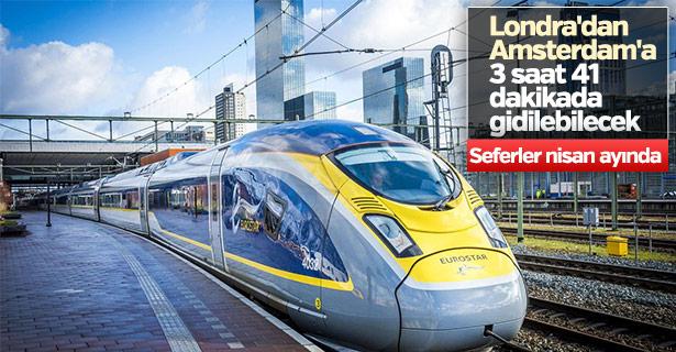 Londra- Amsterdam arası hızlı tren seferleri başlıyor