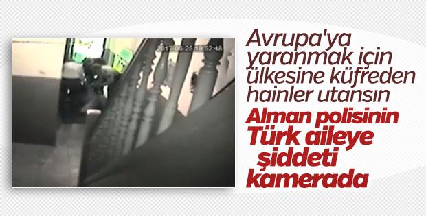 Almanya'da Türk ailesine polis şiddeti