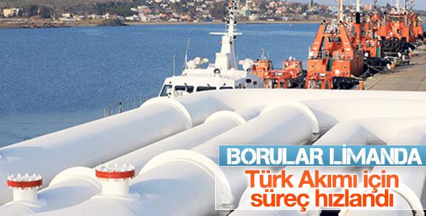 Türk Akımı'nda ilk gaz 2019'da