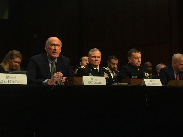ABD Kongresi'ne sunulan istihbarat raporu