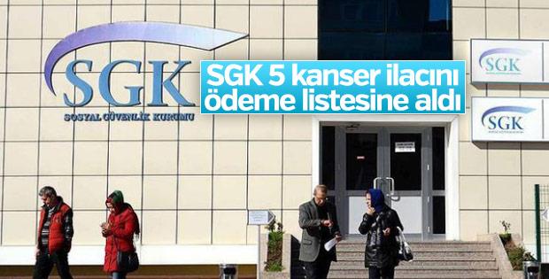 SGK ödeme listesine aldığı 5 kanser ilacını açıkladı