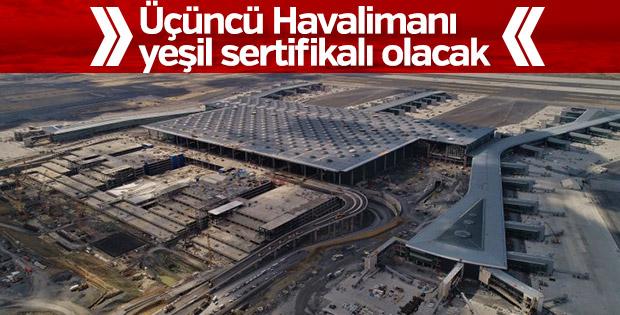 Üçüncü Havalimanı çevreci olacak