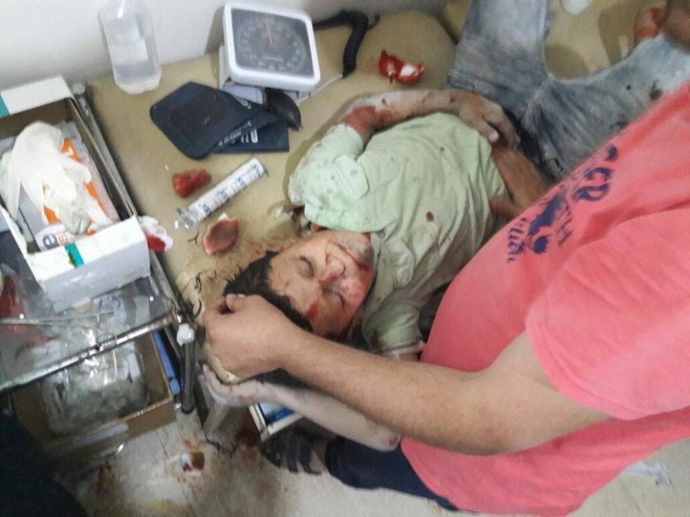 İdlib'e hava saldırısı: 20 ölü 80 yaralı