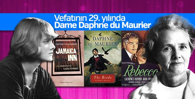 Hitchcock'un en sevdiği yazar: Dame Daphne du Maurier