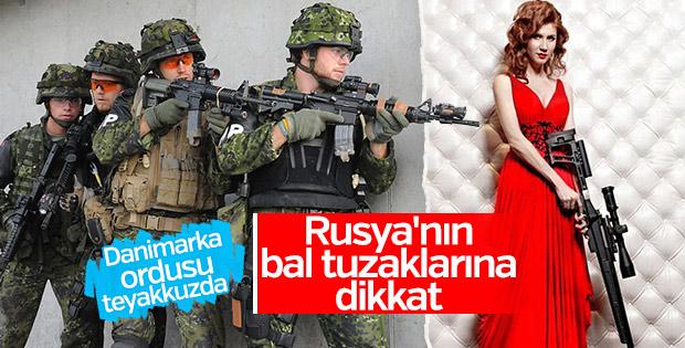 Danimarka'dan askerlerine Rus kadınlar uyarısı