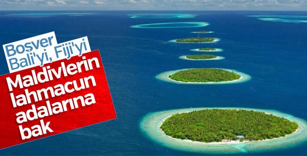 Maldivler'in Baa Atoll adaları