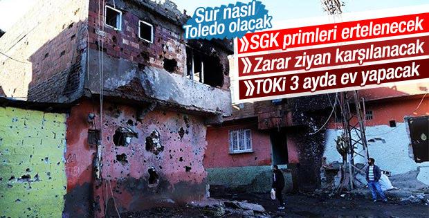 Davutoğlu: Doğu ve Güneydoğu'da evler 3-5 ayda bitecek