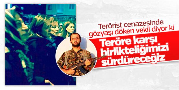 Terörist için ağlayan CHP'linin terörle mücadele sözü