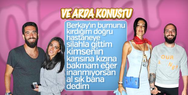 Arda Turan: Olayın detaylarını Aslıhan'dan öğrendim