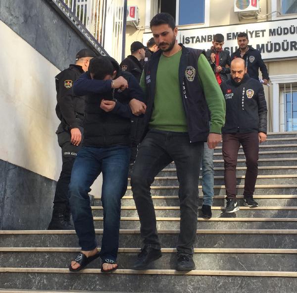 İstanbul'da hırsızlık çetesi çökertildi