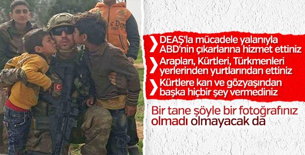 Afrinli çocukların Mehmetçik sevgisi