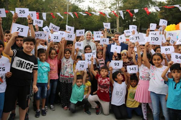 Esenler'de 365 çocuğun hayali gerçek oldu