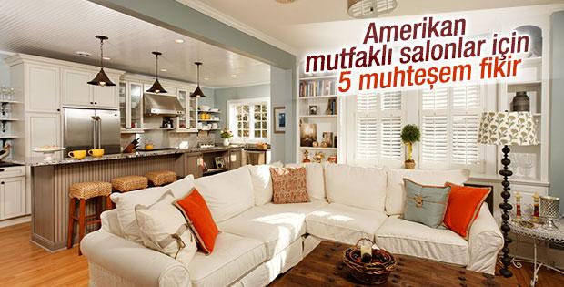 Amerikan mutfakl salonlar i in 5 muhte em fikir for 30 metrekare salon dekorasyonu