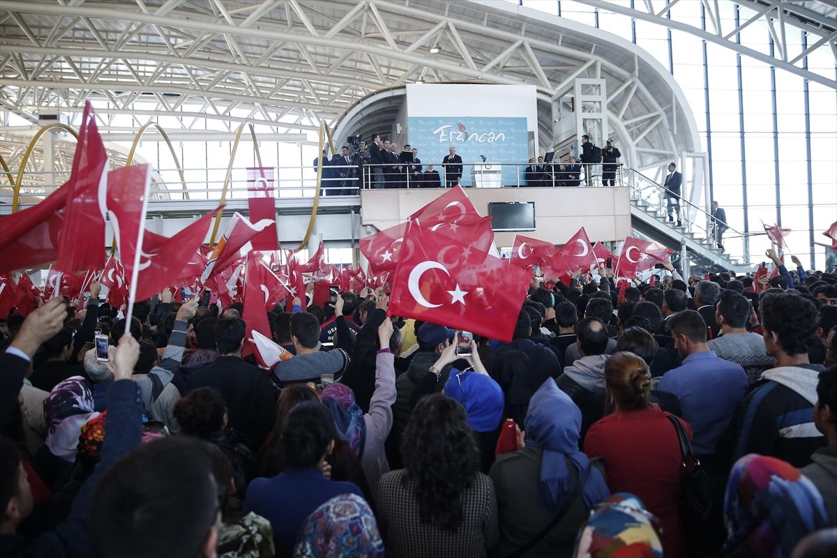 Başbakan Binali Yıldırım Erzincan'da