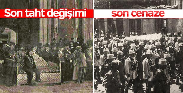 Osmanlı Sarayı'nda son cenaze ve son cülûs