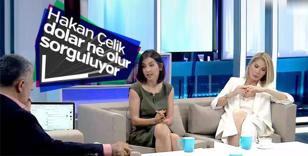 CNN Türk canlı yayınında doların durumu sorgulandı