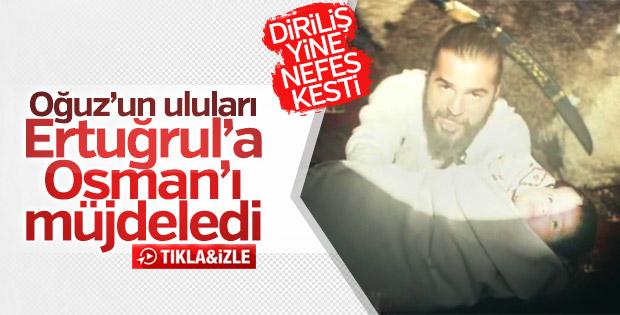 Diriliş Ertuğrul'da Osman Gazi'li sahne